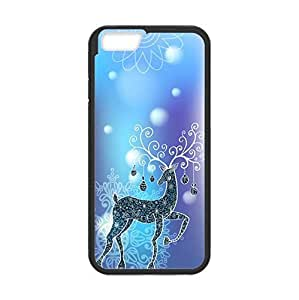 4.7 inch Screen Ipod Touch 4 TPU Case with Xmas Deer (Laser Technology)-by Allthingsbasketball