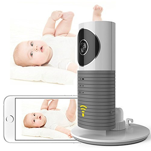 Clever Dog Smart Baby Camera Cadrim WIFI Video Camera Baby Monitor Home Security Monitor WIFI 720P Camera with Two-Way Audio and Night Vision Best Security Camera for Your Baby,Home, Pet
