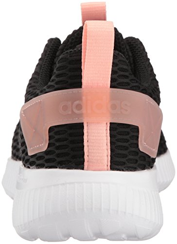 Adidas Neo Mujeres Cf Lite Racer Cc W Core Negro / Core Black / Haze Coral