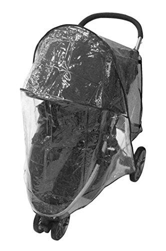 Comfy Baby Stroller Raincover Weathershield Fits the Britax B-Agile 3 and Britax B-Agile 4 (Single)