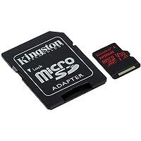 Kingston Canvas React 128GB microSDXC Class 10 microSD...