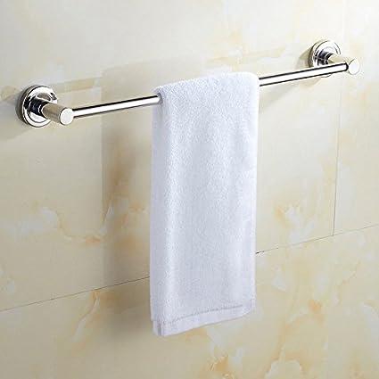 Perforación gratuita acero inoxidable 304 perchero colgante inodoro de un solo poste barra para toallas colgador
