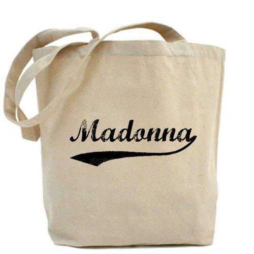 CafePress, motivo: Madonna Vintage Borsa di tela naturale, panno borsa per la spesa