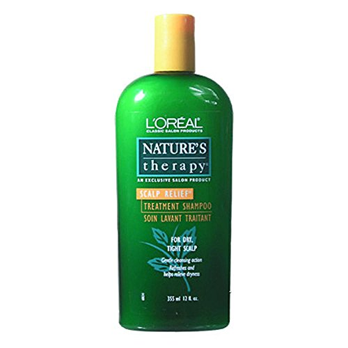 L'Oreal Natures Therapy Scalp Relief Treatment Shampoo 12 oz.