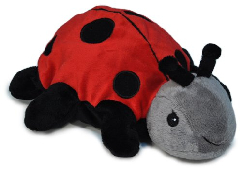 Cloud B Twillight Ladybug Soothing Puppet Hand Puppet With Hot/Cold Pack