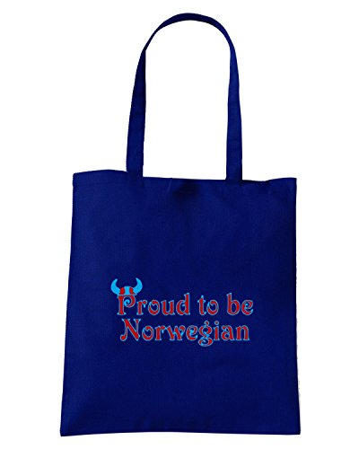 T-Shirtshock - Bolsa para la compra OLDENG00348 norway2 Azul Marino