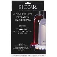 Riccar Genuine Radiance Hepa Filtration Vacuum Bags Type X