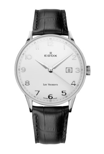 Edox Les Vauberts Men's Quartz Watch 70172-3A-ABN