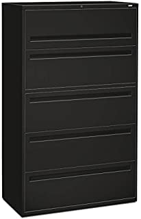 HON 795LP 700 Series 42-Inch 5-Drawer Lateral File withroll-Out and