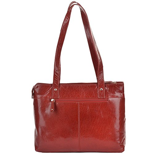 Ashwood Leather, Borsa a zainetto donna rosso Red