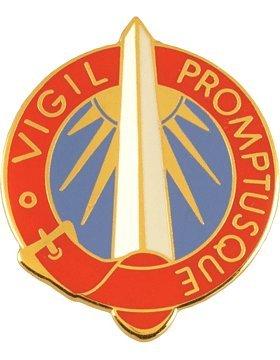 Group Unit Crest (116th Military Intelligence Group Unit Crest (Vigil Promptusque))
