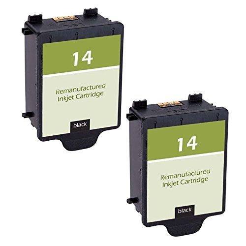 14 Black C5011an Ink - N&L Global CO. 2-Pack C5011AN HP 14 Black Compatible Ink Cartridge for HP CP1160 Officejet D135 D155 7100's HP Digital Copier 610 (Pack of 2)