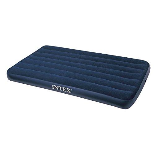 Intex Downy colchón Especial Inflatable, Vinilo, Azul, 190 x 120 x 23 cm