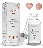 Jojumi Wild 2 oz 100% Pure Hyaluronic Acid Serum for Skin, Face and Under Eye - Best Hydrating Facial Serum for Anti-Aging and Skin Care to Reduce Wrinkles and Fine Lines