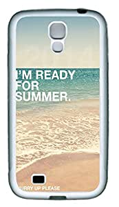 Samsung S4 Case Ready For Summer 2114614 TPU Custom Samsung S4 Case Cover White