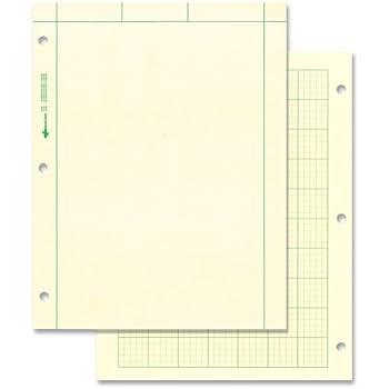 Amazon.com : TOPS Engineering Computation Pad, 200 Sheets (35502 ...