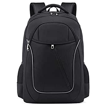 SODIAL Supply Business Backpack Male Multi-Function Korean Version Of The Notebook Travel Computer Bag School Bag Black