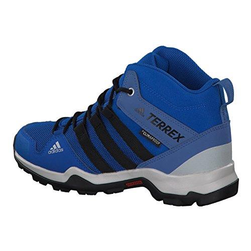 adidas Unisex-Kinder Terrex Ax2r Mid ClimaProof Trekking-& Wanderhalbschuhe Blau (Blubea/Cblack/Traroy)