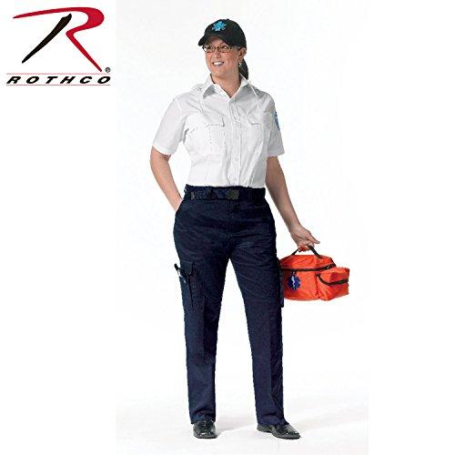 Emt Pants Navy - Rothco Women's EMT Pant, Navy Blue, 4