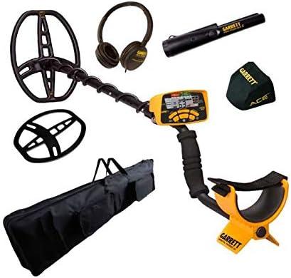 Garrett Ace 400i PRO Pointer - Bolsa de transporte con detector de metal dorado: Amazon.es: Deportes y aire libre