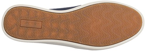 Sperry Top-sider Womens Oasis Loft Canvas Navy In Tela Da Barca