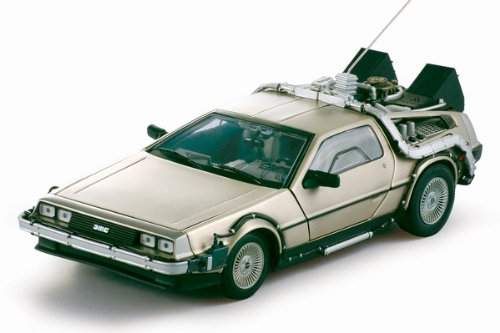 Sun Star 2711 Delorean Time Machine from Movie Back to The Future I 1-18 Diecast Model Car 657440027113