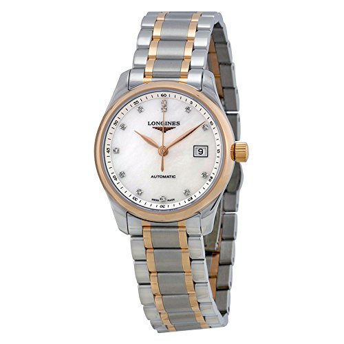Longines Master Collection Mother of Pearl Dial Two-tone ...
