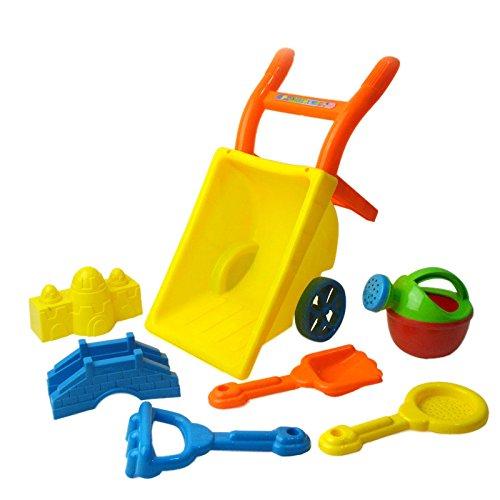 【ノーブランド 品】おもちゃ ビーチ 子供 手押し車 プレイセット プレゼント プラスチックの商品画像