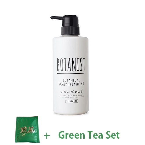 Botanist Botanical Scalp Treatment 490ml - Citrus & Musk Scent (Green Tea Set)