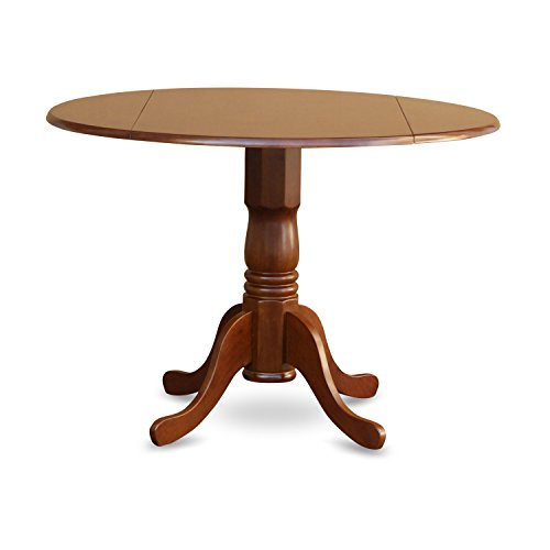 (East West Furniture DLT-SBR-T Dublin Round Table With Two 9