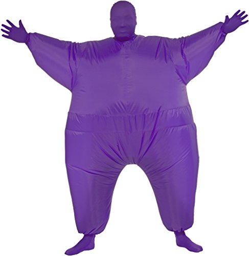 Rubie's Costume Inflatable Full Body Suit Costume, Purple, One Size (Inflatable Body Costume)
