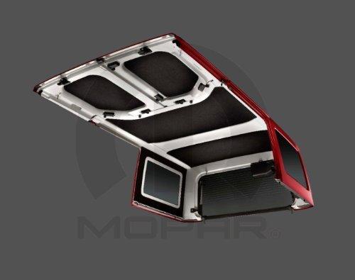Mopar 2011-2014 Jeep Wrangler Jk Hard Top Four Door Headliner Kit OEM by Mopar