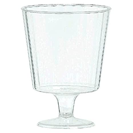 Amscan Clear Premium Quality Boxed Champagne Flutes | 5 oz. | Box of 8 | Party Supply 351000.86