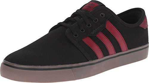 adidas Originals Men's Seeley Lace up Shoe Black/Burgundy/Gum outlet new styles brand new unisex latest collections sale online outlet get to buy 5BbbGEsO