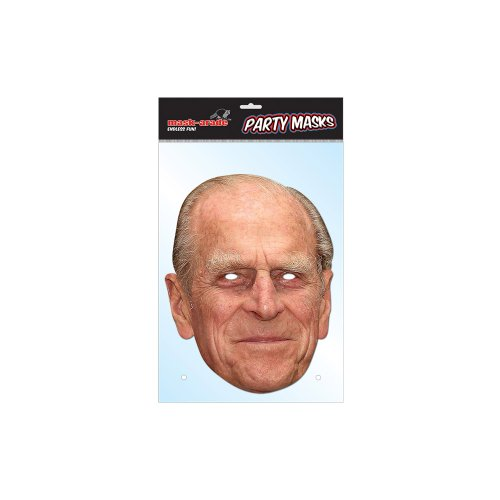 Prince Phillip The Duke Of Edinburgh Cardboard Party Mask (Phillips Card Tobacco)