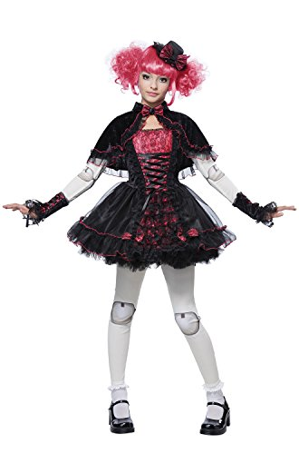 California Costumes Victorian Doll Child Costume, Medium -