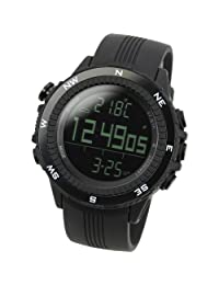[LAD WEATHER] German Sensor Digital Compass Altimeter / Barometer/ Weather Forecast/ Outdoor Climbing/running/walking Sport Watch