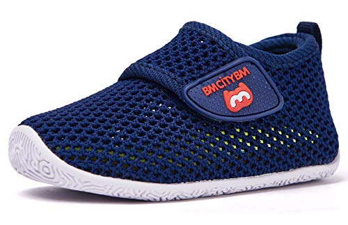 Baby Sneakers Girl Boy Tennis Shoes First Walker Shoes 6 9 12 18 24 Months Navy