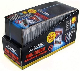 Amazoncom Ultra Pro 35pt One Touch Baseball Card Holders