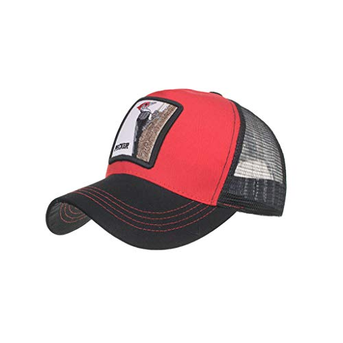 (Hip Hop Hat Embroidery Fashion Baseball Cap Outdoor Leisure Sunscreen Breathable Sun Hat)