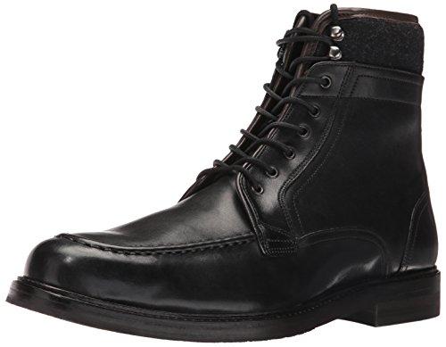 Ted Baker Men's Hickut Combat Boot - Black Leather - 12 D...