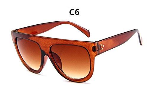 gafas la de C6 Gran Full Gafas de Vintage Diseño sol Frame gafas gafas mujer ZHANGYUSEN de de Mujer marca sol C6 lujo 7qIxnwPg