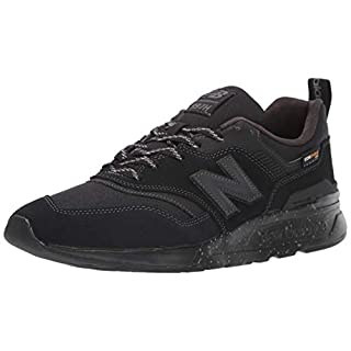 New Balance Men's 997H V1 Sneaker, Black/Black, 4.5 D US