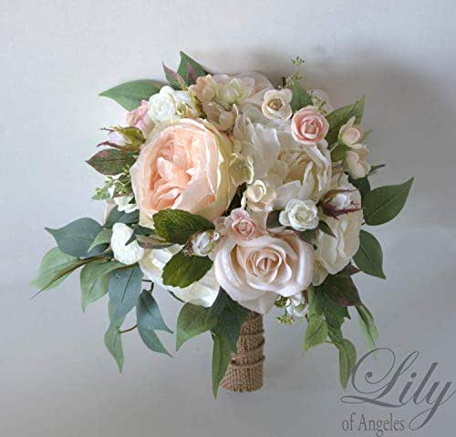 Blush Wedding Flowers: Amazon.com: Wedding Bouquets, Bridal Bouquets, Bridesmaid