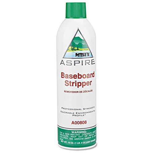Aspire Baseboard Stripper, Lemon Scent, 16oz Aerosol