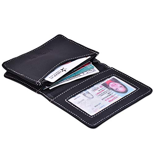 Louis Pelle Leather Women Wallet RFID Blocking Leather - Bag Fashion Accessories