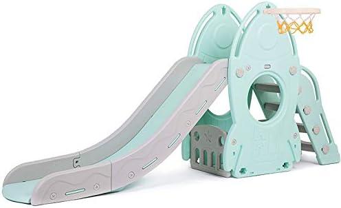 Slide jardín para niños interior y exterior Niño cubierta plegable Juego Familia Zona de juegos de diapositivas fácil de configurar, de regalo ideal for niños y niñas, Recomendado for Niños de 1-10: