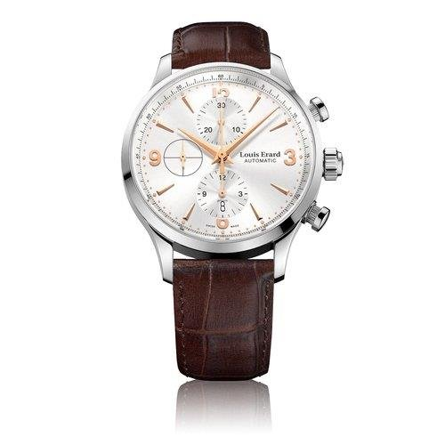 Louis Erard Heritage Collection Swiss Automatic Silver Dial Men's Watch 78225AA11.BDC21