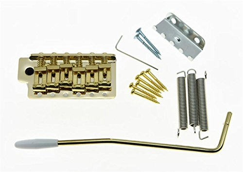 KAISH Gold ST Strat Trem Tremolo Bridge Locking System Full - Import It All