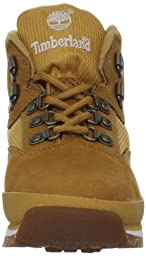 Timberland Euro Hiker Leather and Fabric Boot (Toddler/Little Kid/Big Kid),Wheat,5 M US Toddler
